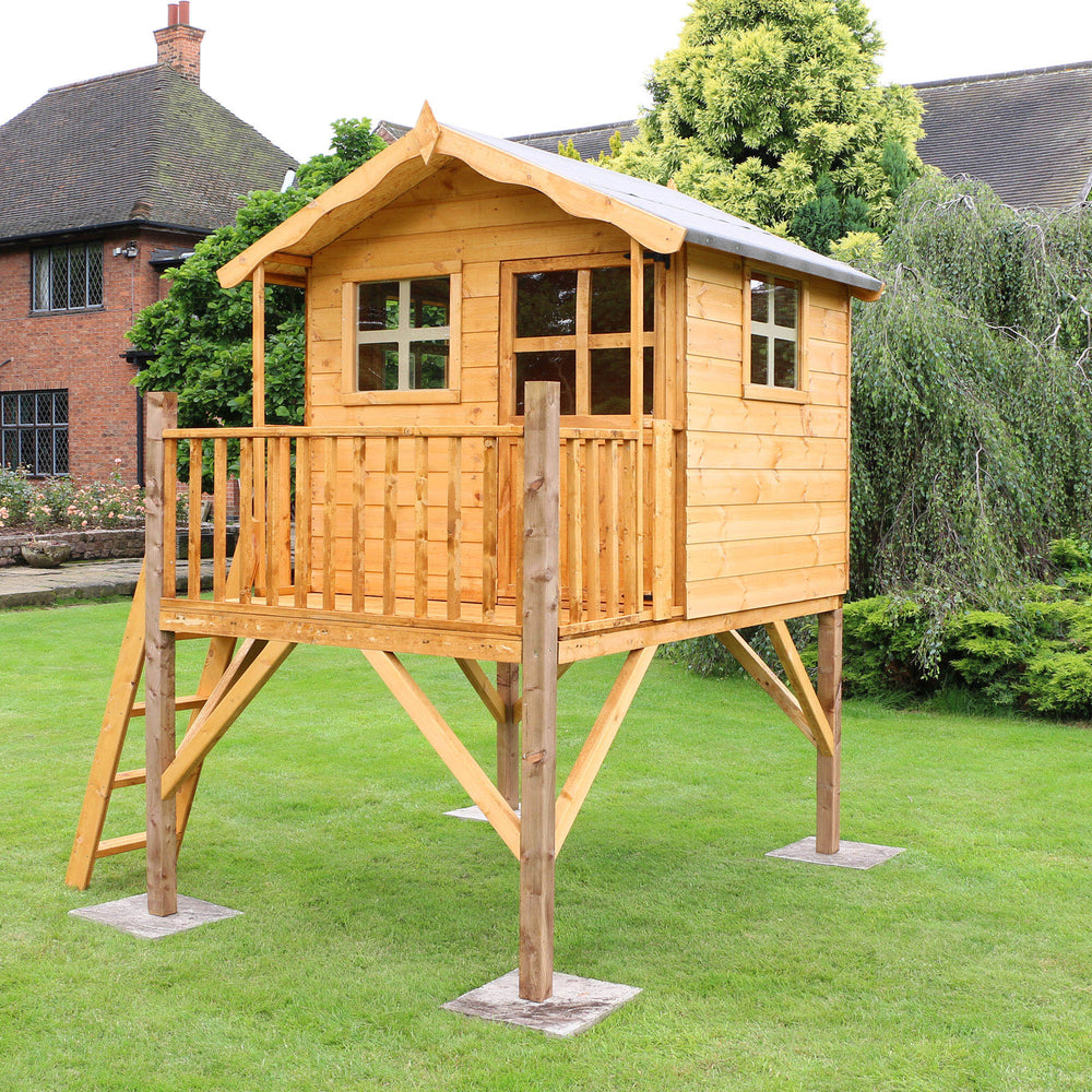 Poppy Playhouse with Tower - Barewood Buildings