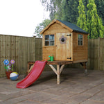 Snug Playhouse & Tower & Slide