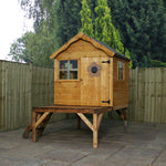 Snug Playhouse & Tower - Barewood Buildings