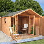 12x8 - Premium Traditional Summerhouse - Barewood Buildings