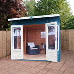 8x8 -  Premium Helios Summerhouse - Barewood Buildings