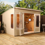 10x8 - Premium Helios Summerhouse - Barewood Buildings