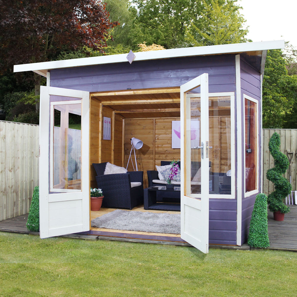 10x10 - Premium Helios Summerhouse - Barewood Buildings