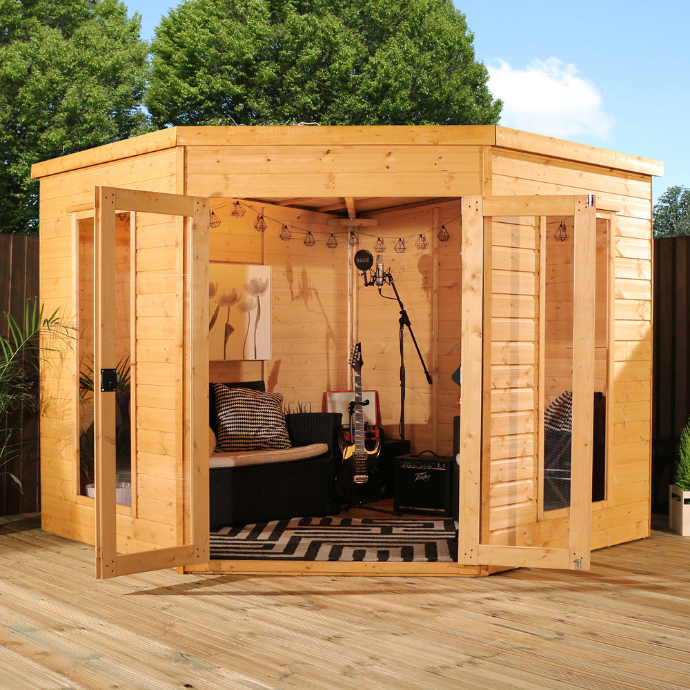 8x8 - Corner Summerhouse