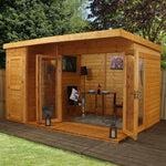 12x8 - Premium Garden room with side shed