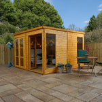 10x10 - Premium Pool House Garden Room - Barewood Buildings