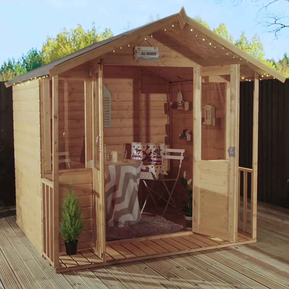 7x5 - Traditional Summerhouse - Barewood Buildings