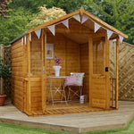 7x7 - Traditional Summerhouse - Barewood Buildings