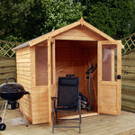 7x5 - Overlap Traditional Summerhouse