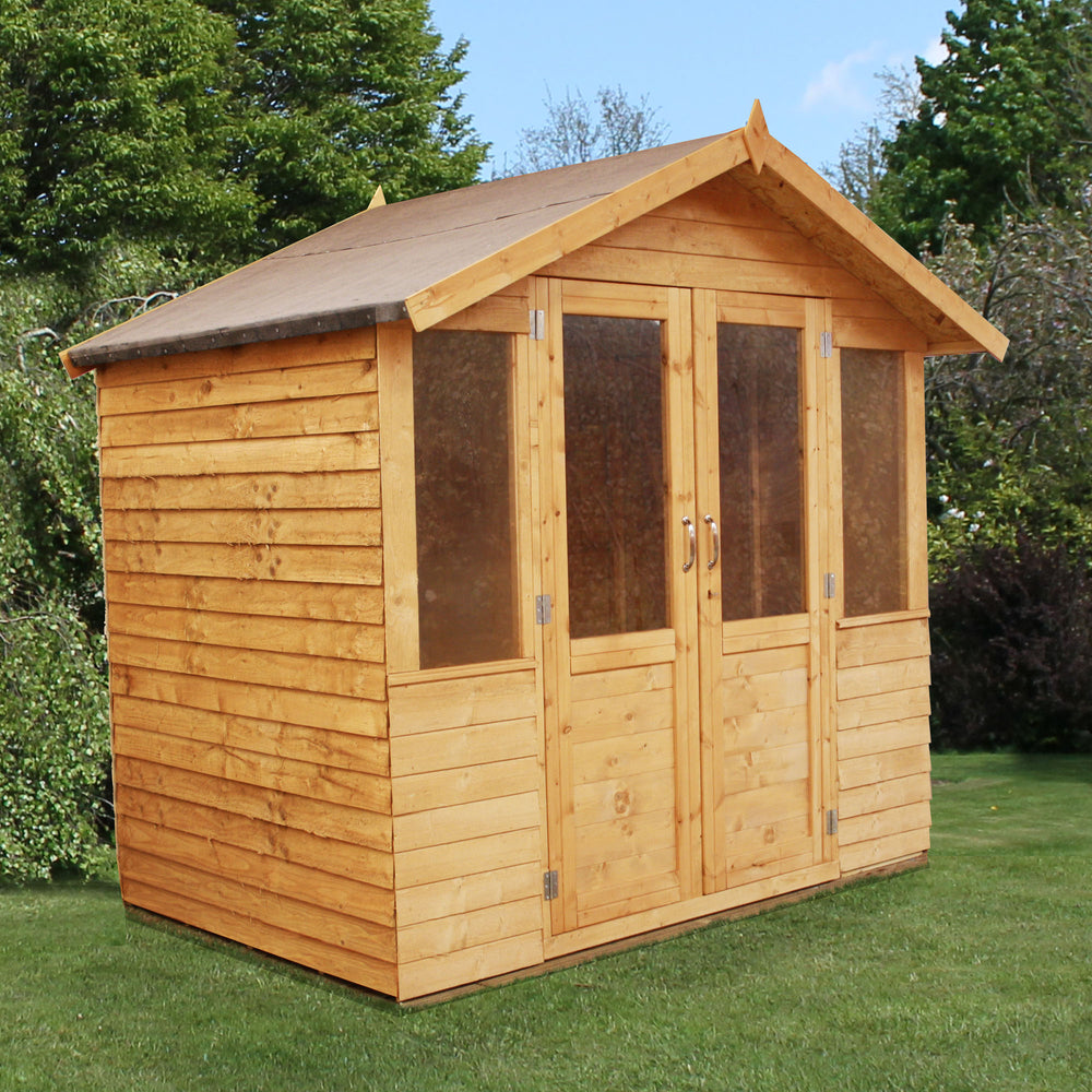 7x5 - Overlap Traditional Summerhouse - Barewood Buildings