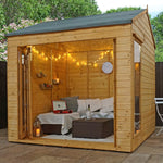 8 x 8 Vermont Summerhouse - Barewood Buildings