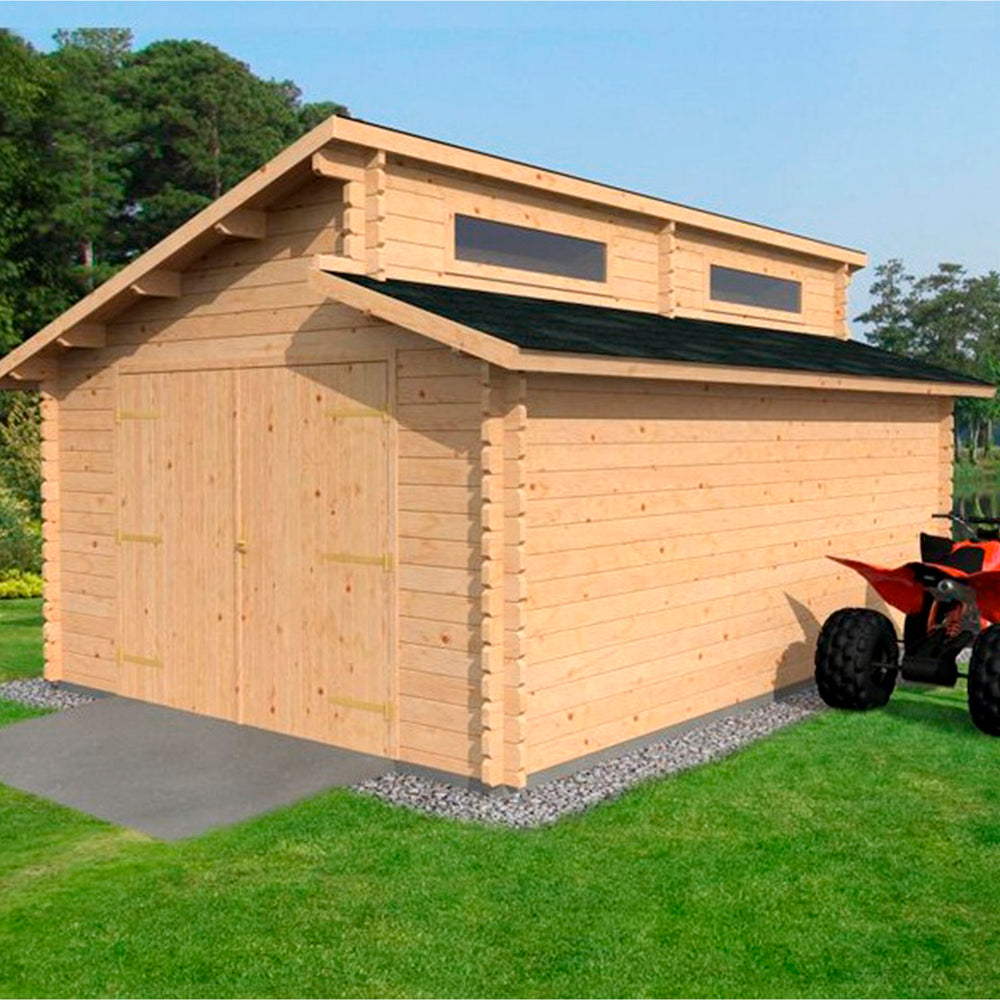 4m x 5.6m Deco Garage Workshop