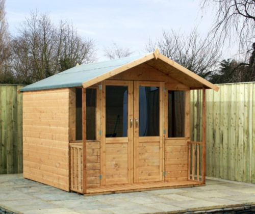 7x8 - Traditional Summerhouse - Veranda