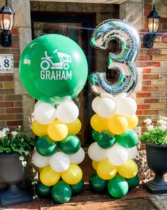 Custom Birthday Balloon Column