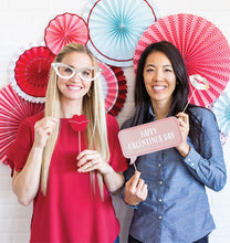 Valentine Galentine Photo Props