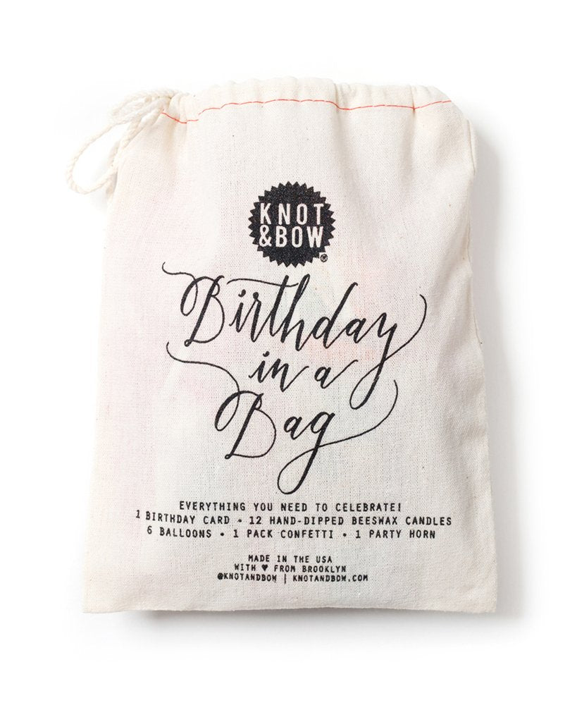 Birthday in a Bag