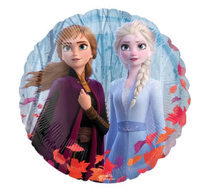 "Frozen 2 17"" Foil Balloon with Elsa/Anna/Olaf"