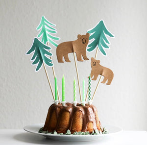 Little Explorer Cake Toppers