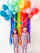 Rainbow Balloon Arch Kit with Tassels