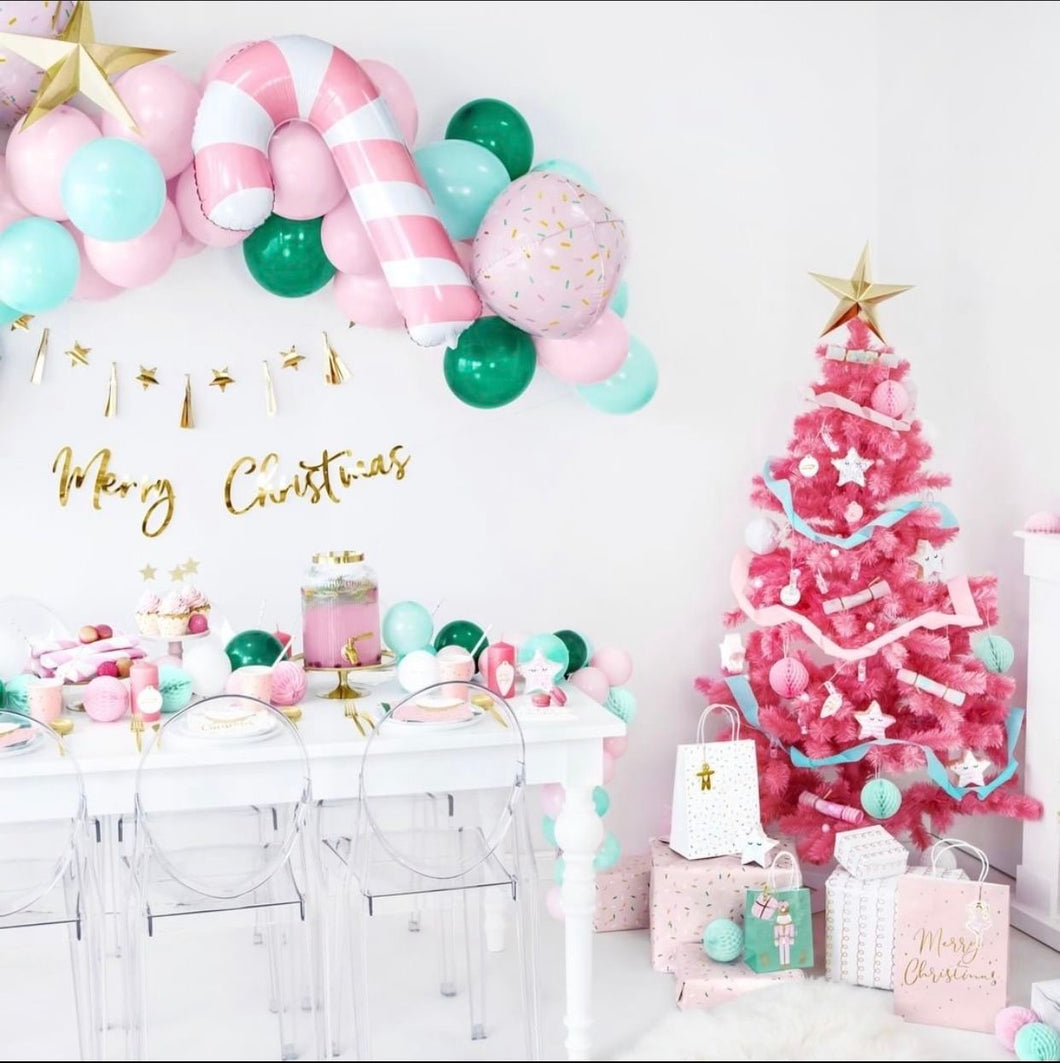 Sugar Plum Fairy DIY Balloon Garland
