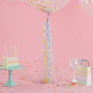 Pastel Balloon Tassel Decoration