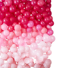 Pink Ombre Balloon Wall Kit
