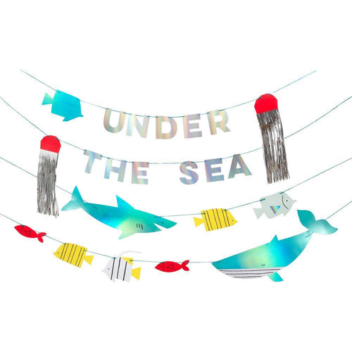 Under The Sea Garland Banner