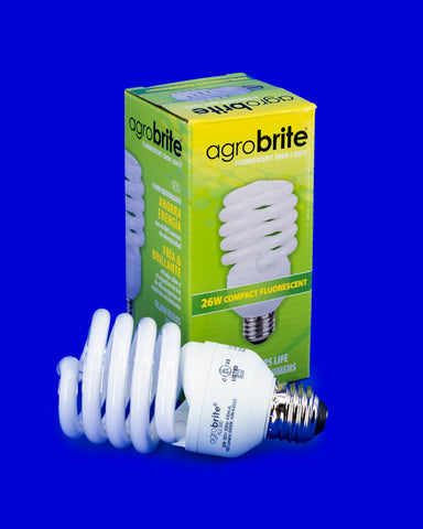 Agrobrite Agrosun CFL Grow Light Bulb