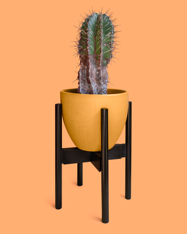 "Decluttered 8-12"" Expandable Midcentury Plant Stand"