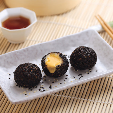 Ready to Cook Sesame Creamy Custard Ball (6Pcs)