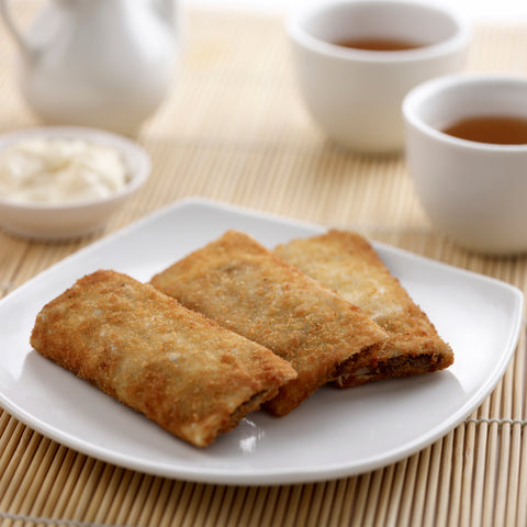 Crispy Banana & Red Bean Paste