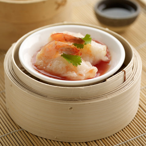 Steam Shrimp in Sweet & Sour Sauce