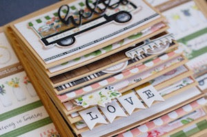 Spring Market - April Mini Album Kit