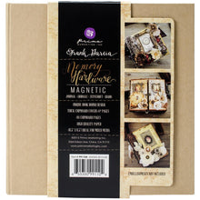 Magnetic W/8 Pages Memory Hardware Album by Prima Marketing
