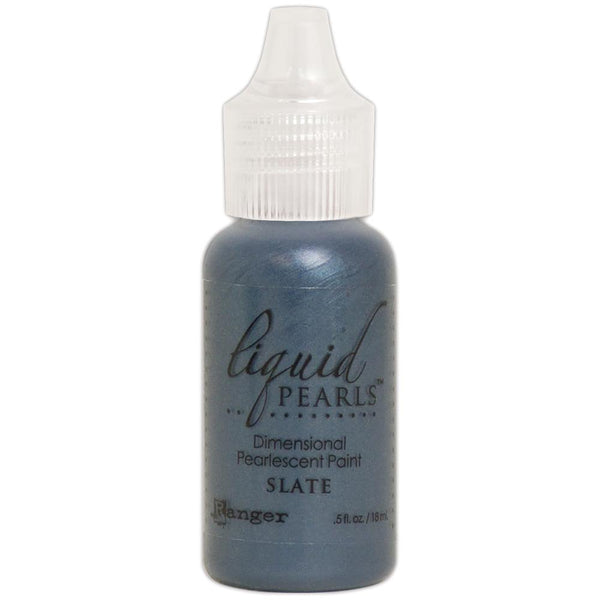 Liquid Pearls Dimensional Pearlescent Paint .5oz SLATE