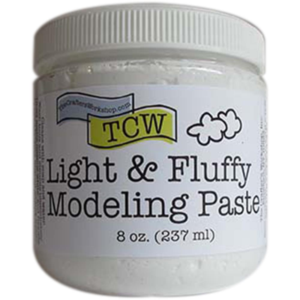 Crafter's Workshop Light And Fluffy Modeling Paste 8oz