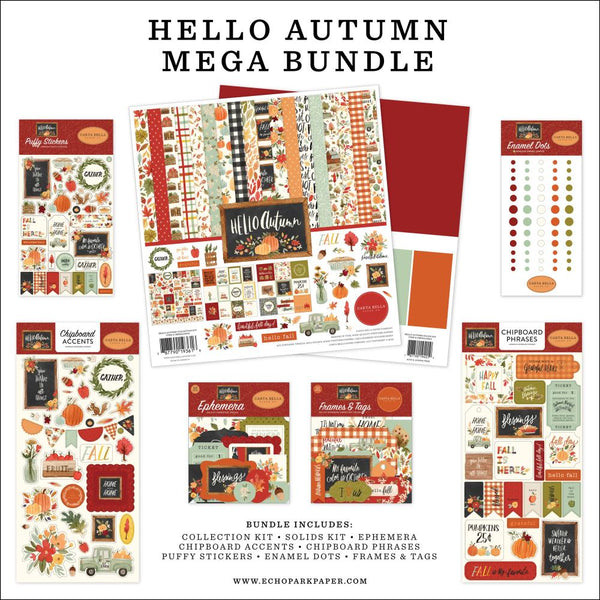 Hello Autumn Mega Bundle by Echo Park Paper