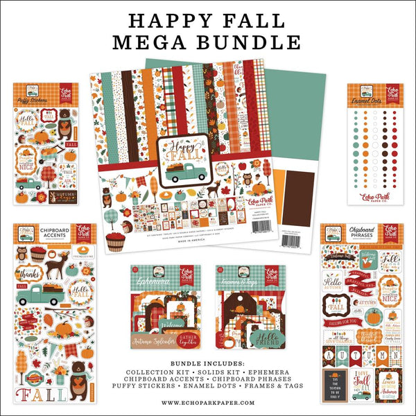 Happy Fall Mega Bundle by Echo Park Paper