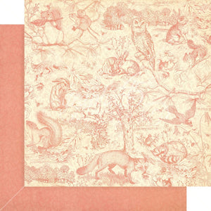 Woodland Friends 12x12 Paper Pad **SHIPPING SEPTEMBER**