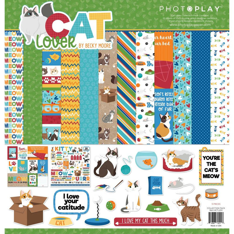 Cat Lover Collection Kit by Photoplay Paper