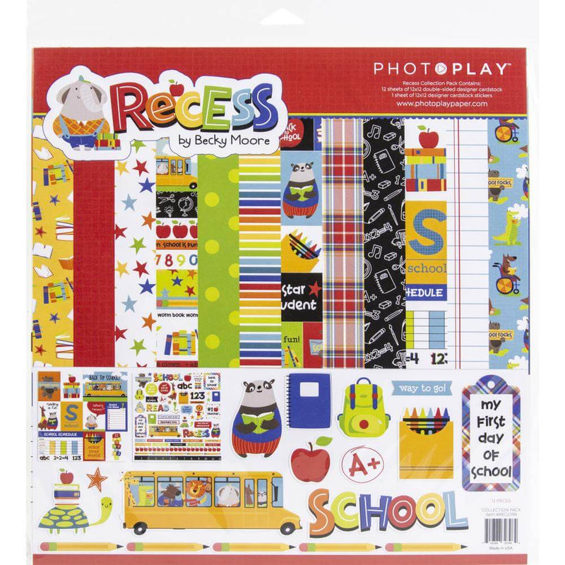 Recess Collection Kit by PhotoPlay Paper