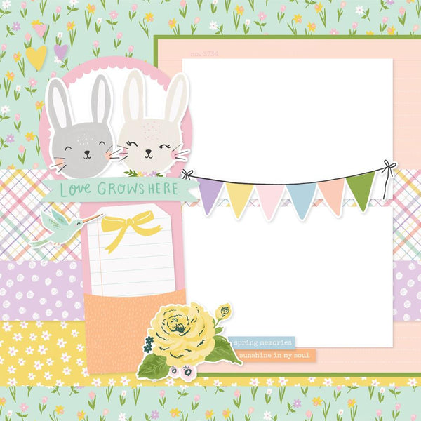 Happy Spring Simple Pages Page Kit