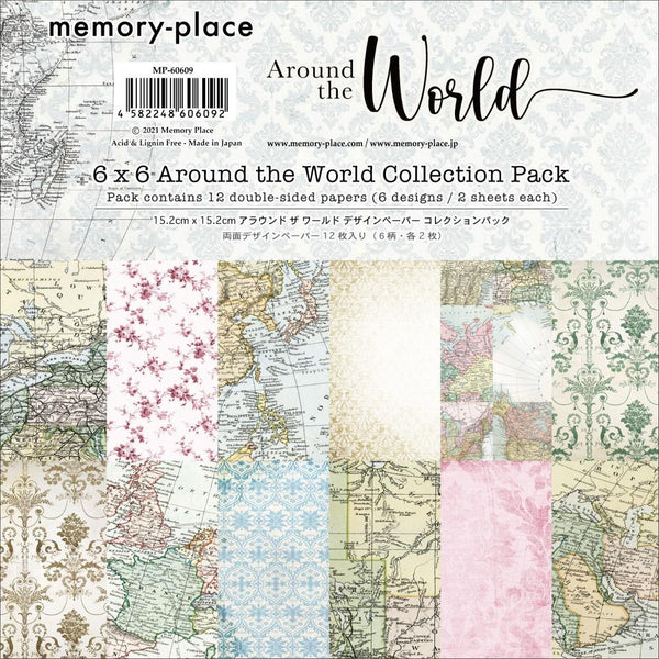 "Around The World Double-Sided Paper Pack 6""X6"""