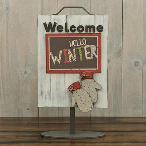 Welcome Sign - Welcome Mittens