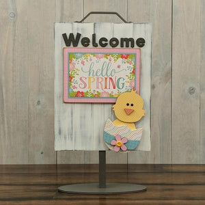 Welcome Sign - Welcome Chick