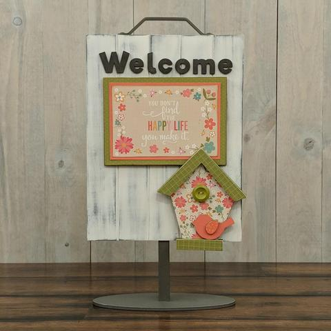 Welcome Sign - Welcome Birdhouse