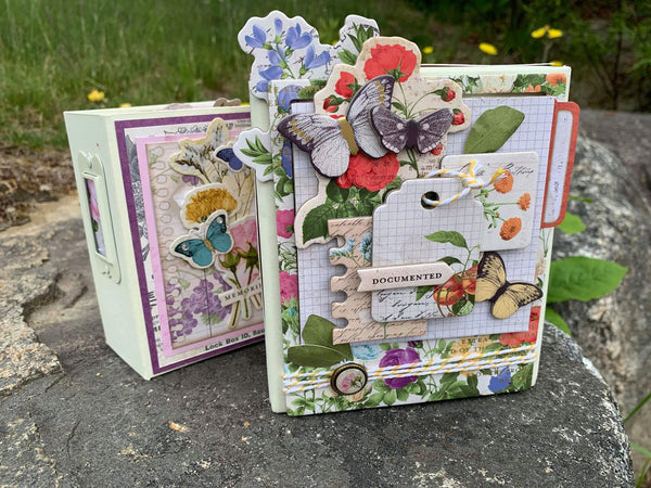 Botanical Journal ATC Mini Album and Matchbook Box Set