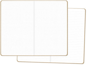 Simple Stories Traveler's Notebook Inserts Dot Grid/Lined