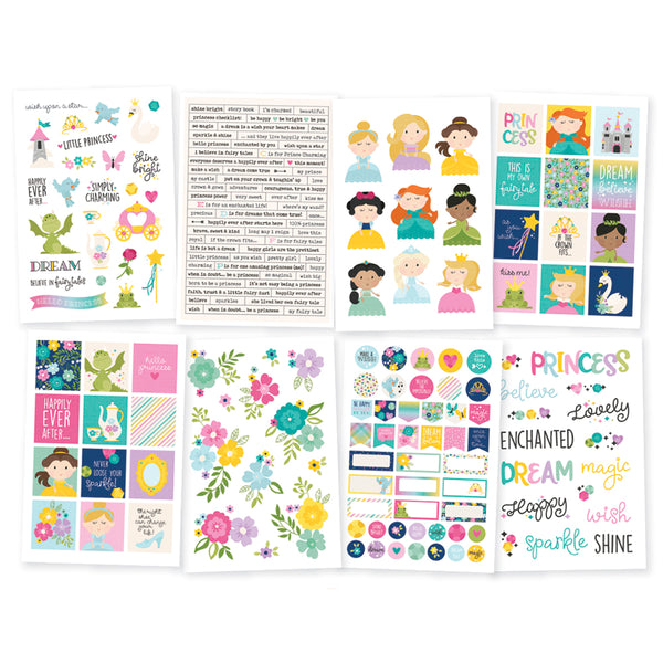 PRINCESS EMBELLISHMENT KIT by SIMPLE STORIES