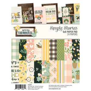 SPRING FARMHOUSE 6X8 PAD by SIMPLES STORIES